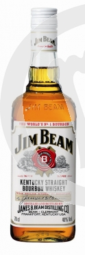 Jim Beam White Label 40% 0.7 ltr. Flasche