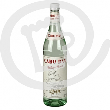 Cabo Bay White Rum 37,5% 0.7 ltr. Flasche