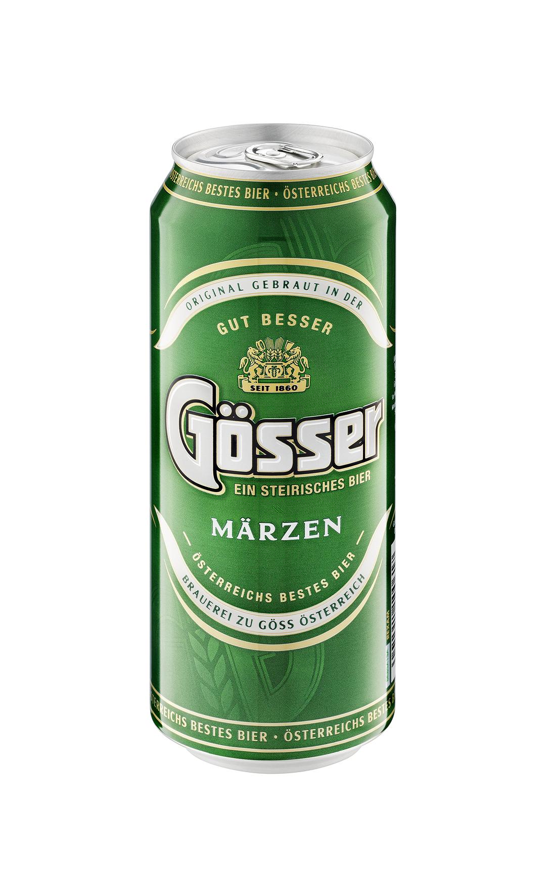 Gösser Dosenbier