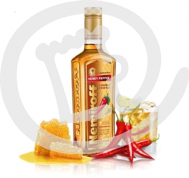 Nemiroff Honey Pepper Vodka 40% 0.7 ltr. Flasche